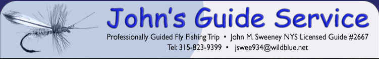 Adirondack Fly Fishing Guide Service